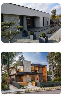 maison contemporaine dans hameaux a vendre