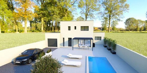 vente maison contemporaine juvignac montpellier